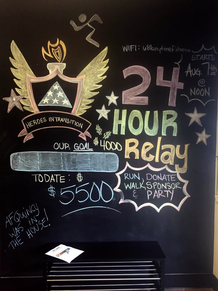 Anytime Fitness 24 Hour Treadmill Relay Raises Funds For
