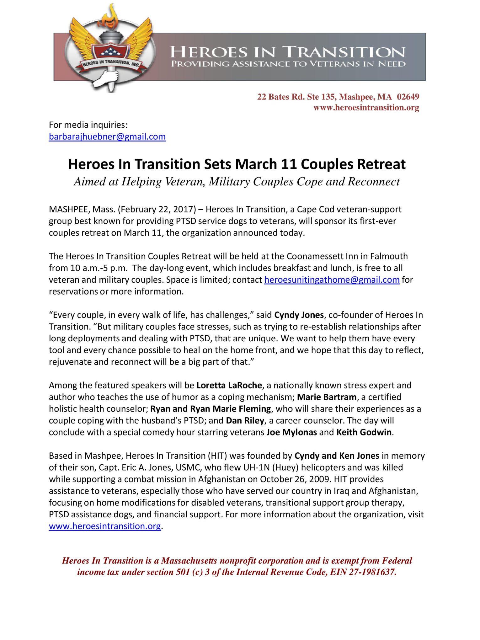 press release feb22