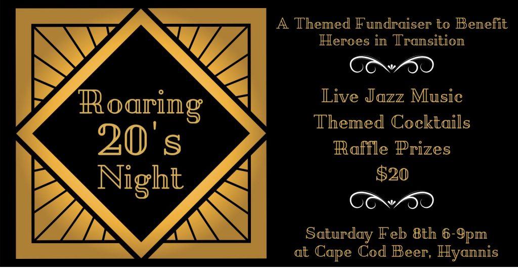 Cape Cod Beer Roaring 20s Night Logo