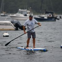 Jason Chorches on SUP
