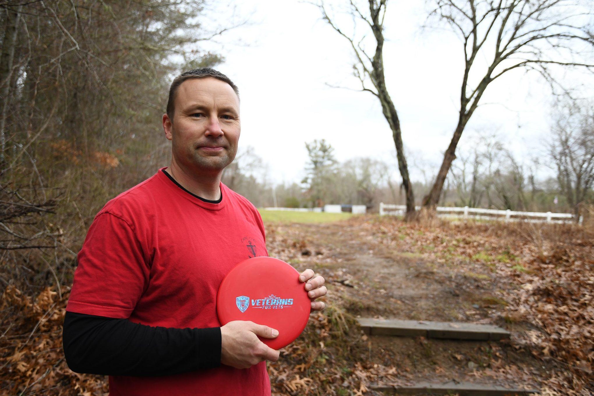 Michael Judin, Vice President of Cape Cod Disc Golf Club