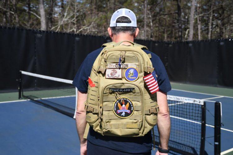 John Cotton's rucksack