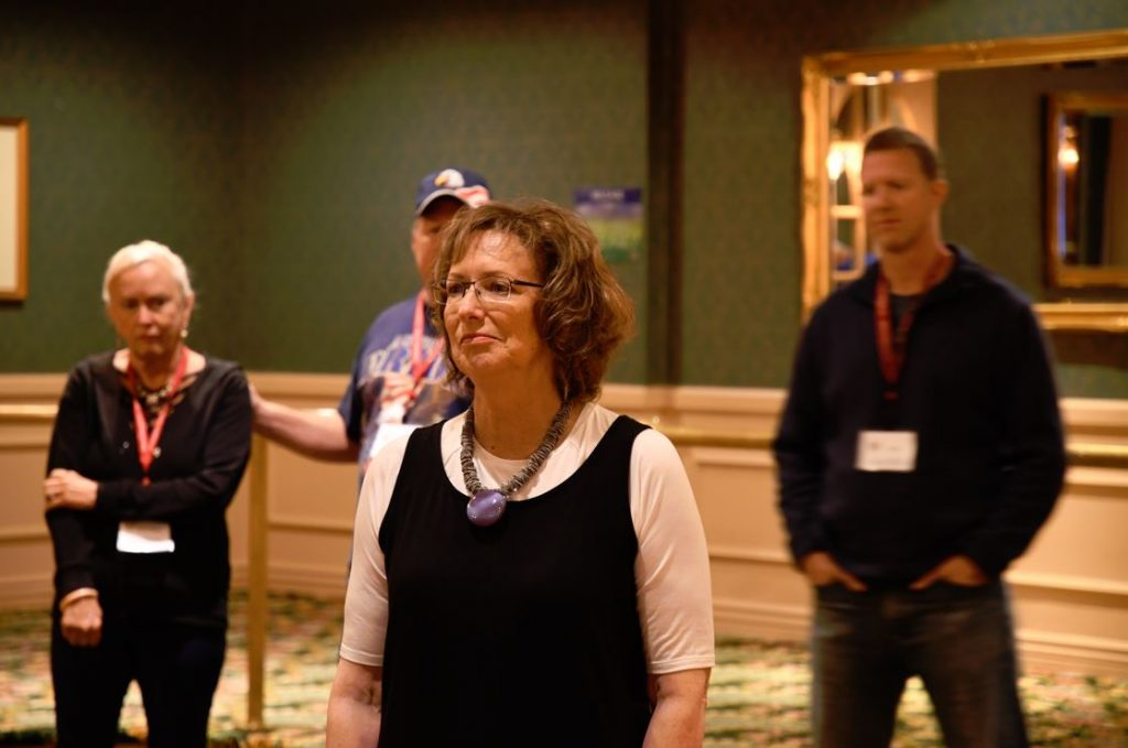 Author Anne Jolles at Heroes In Transition's 2021 Spring Couples Retreat.