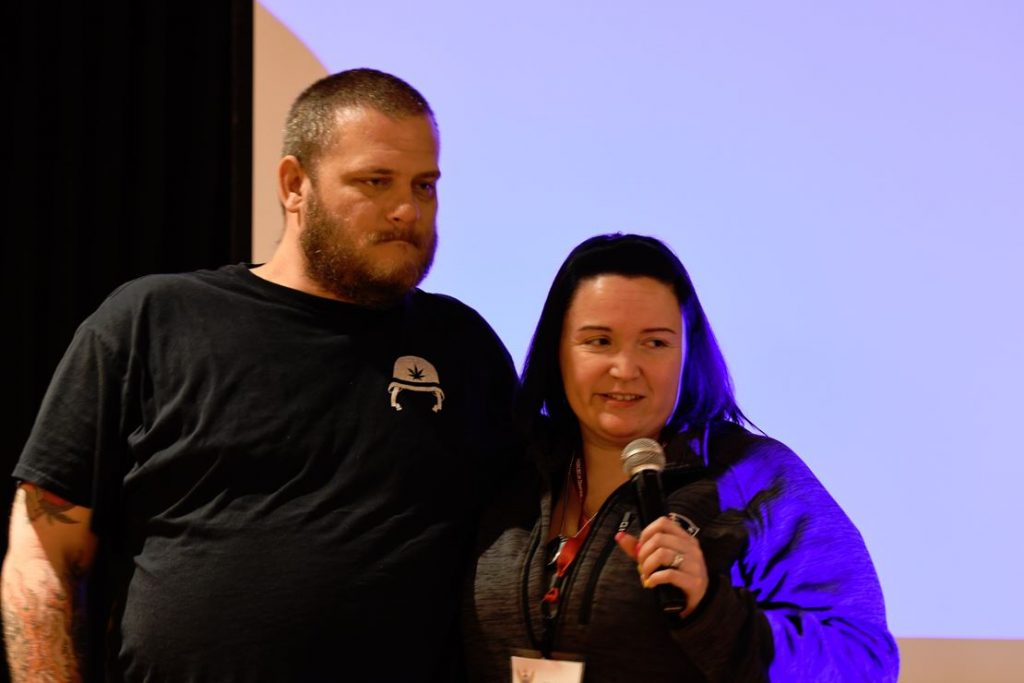 Two military couples share their story during our Spring Couples Retreat.